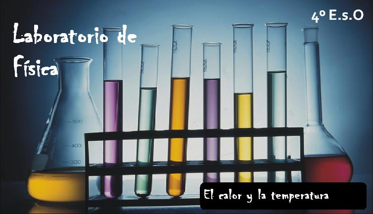 laboratorio calor temperatura: