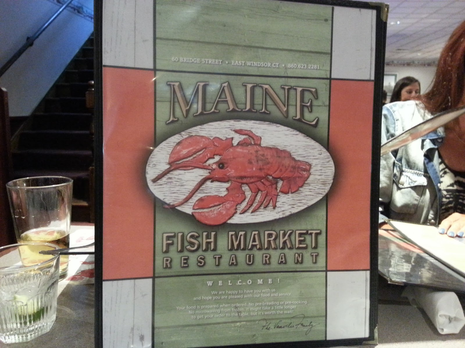 The dish with dean for Maine fish market