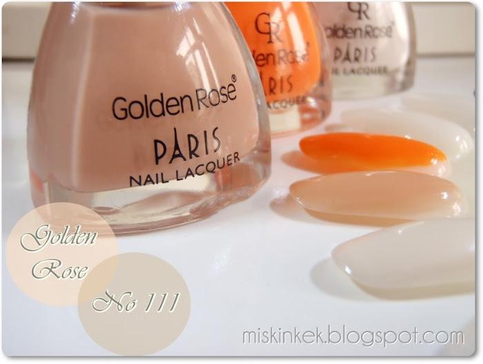 oje-nail polish-golden rose-golden rose 111