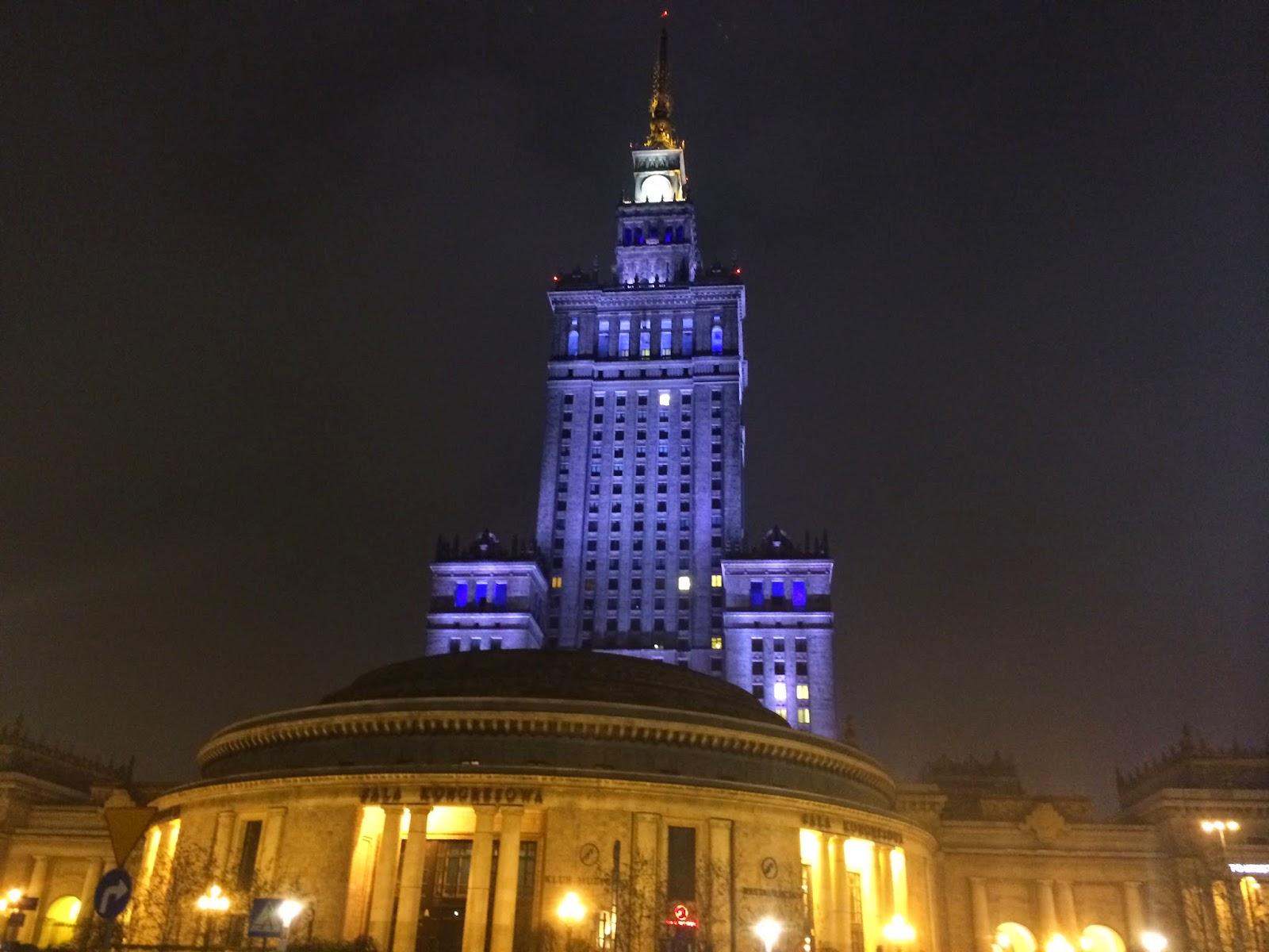 жизнь в Варшаве, достопримечательности Варшавы