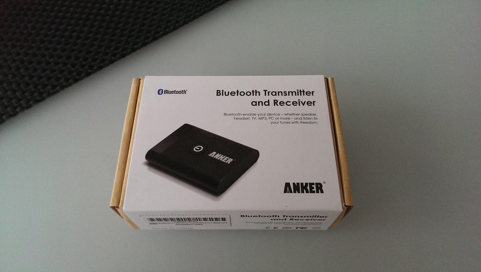 die neuesten produkte im test anker bluetooth transmitter. Black Bedroom Furniture Sets. Home Design Ideas