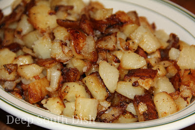 Deep south dish favorite menu ideas for sunday dinner southern fried potatoes forumfinder Images