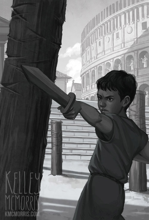Kelley Mcmorris Illustration Ranger In Time Danger In Ancient Rome