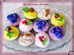 Mini cupcake finti
