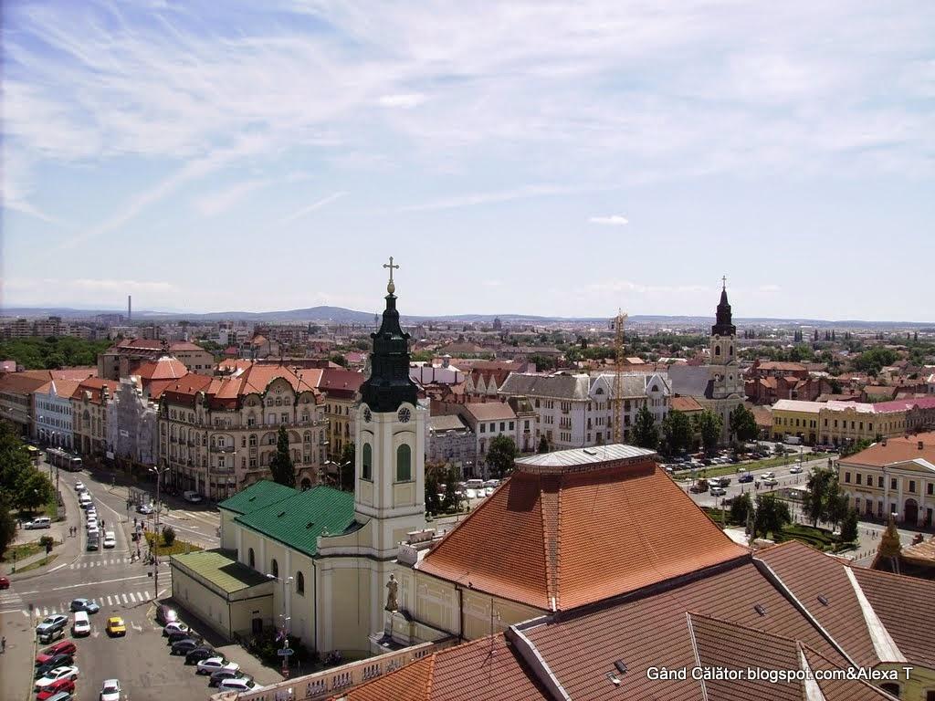 Oradea (main city of Bihor county)