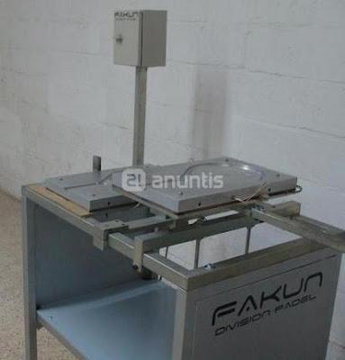 moldes y maquinas para fabricar palas de padel