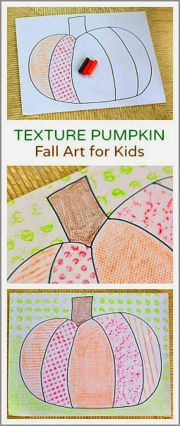 fall texture pumpkins