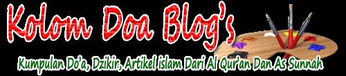 Kumpulan Doa-doa dari qur'an dan sunnah