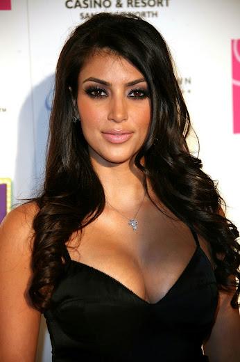 Kim Kardashian's huge boobs
