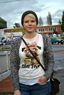 casual, blonde, pug shirt, zara, in style, street style