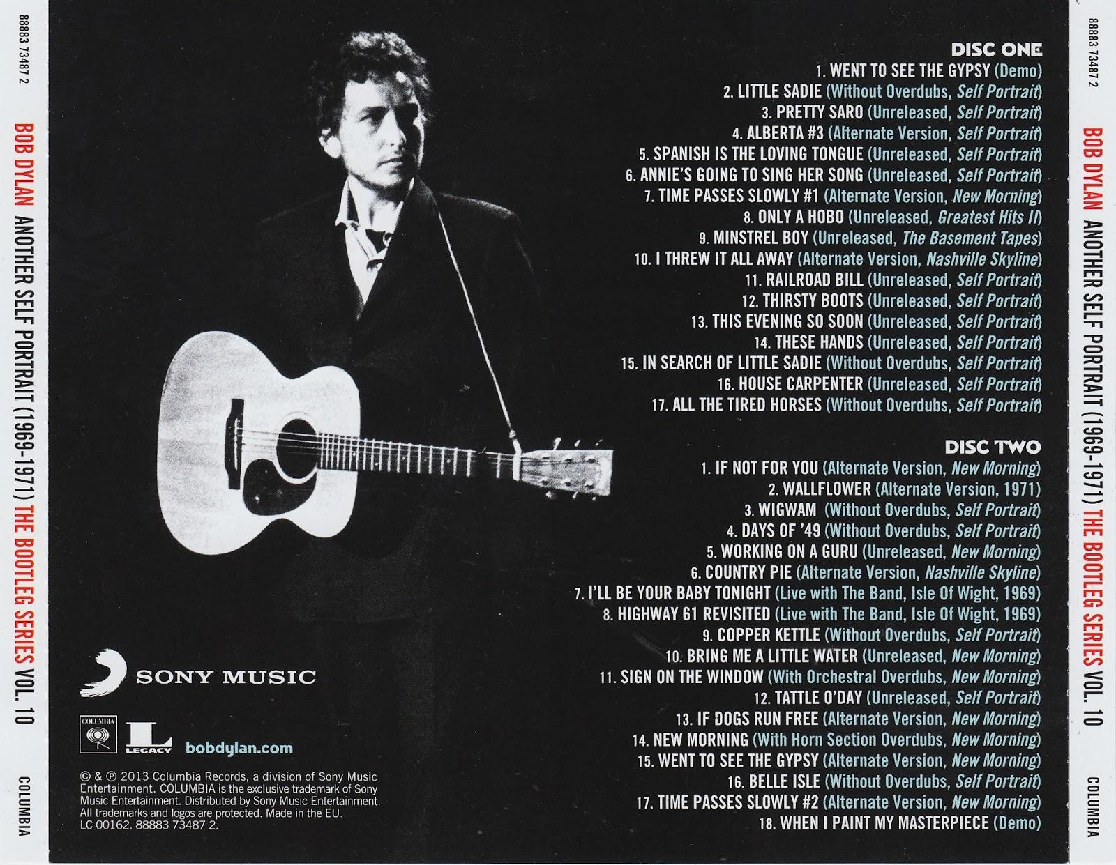 Bob Dylan Another Self Portrait Deluxe jfn music-the listenin...