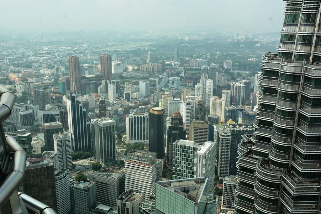 Petronas Towers Kuala Lumpur view city