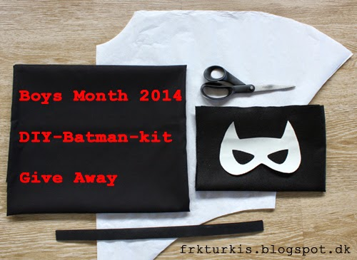 DIY Batman-kit giveaway