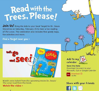 Dr Seuss Storytime Event