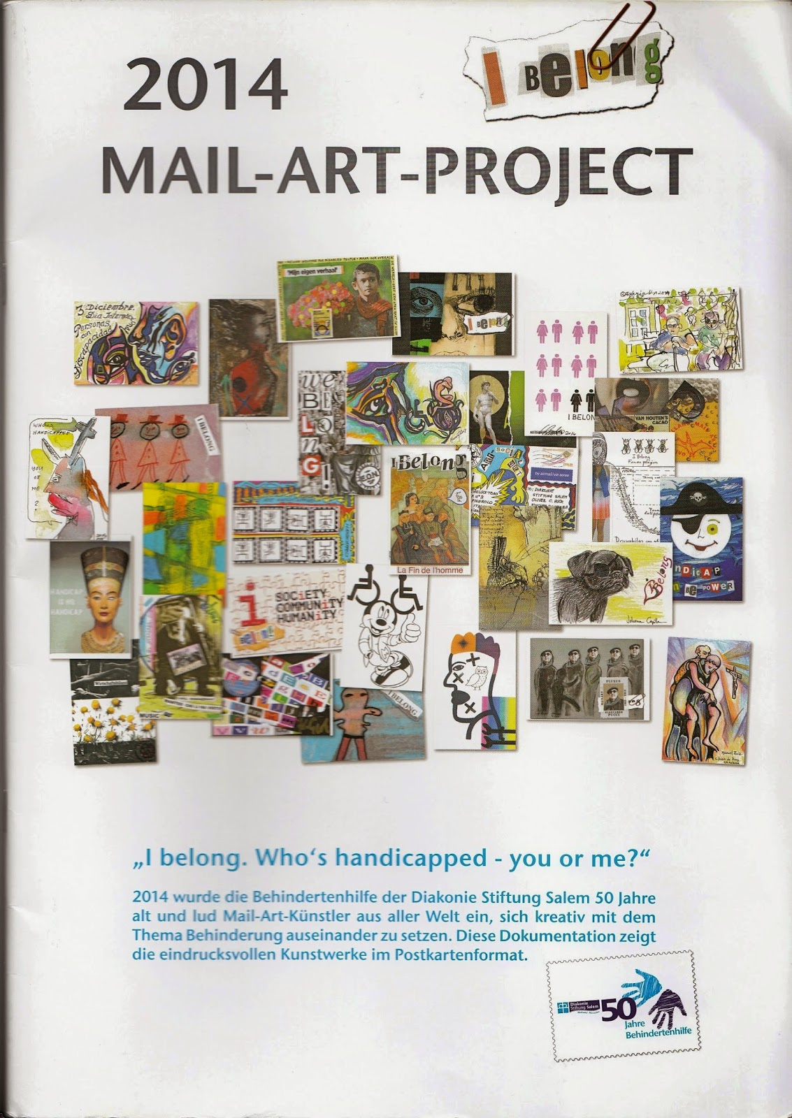 Mail art ist international mailart project catalog for Free craft catalogs mail