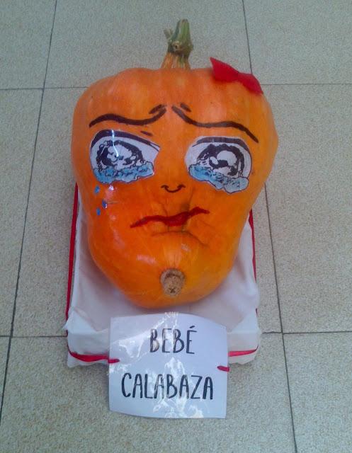 DIY Bebé calabaza Halloween 2013