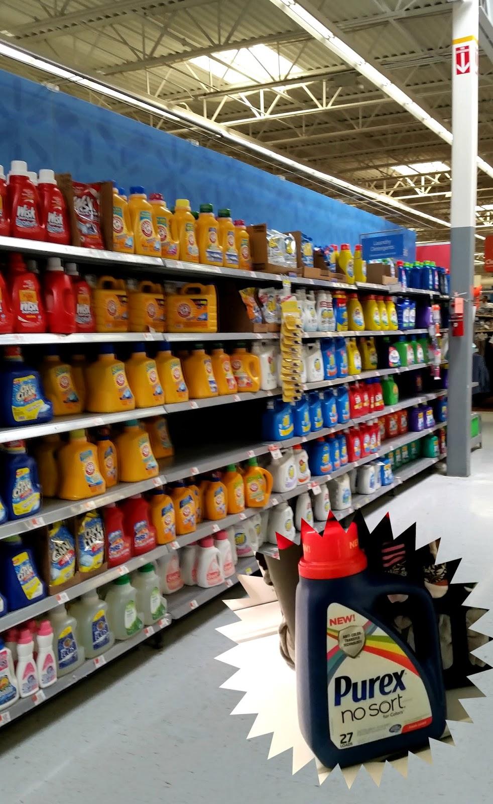 Purex-No-Sort-at-Walmart-#LaundrySimplified-#shop
