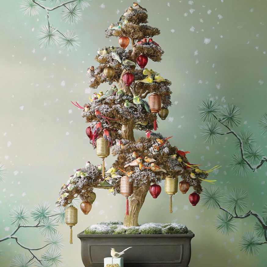 Chinoiserie chic a chinoiserie christmas tree remember this fantastic bonsai christmas tree from the december 2009 martha stewart living here are the details if youd like to create it yourself solutioingenieria Image collections
