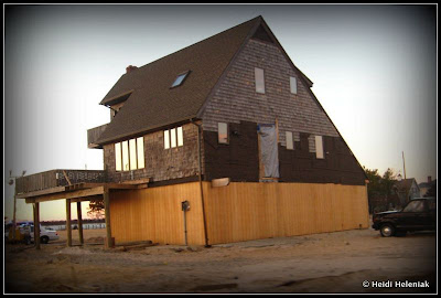 after hurricane sandy, jersey shore house