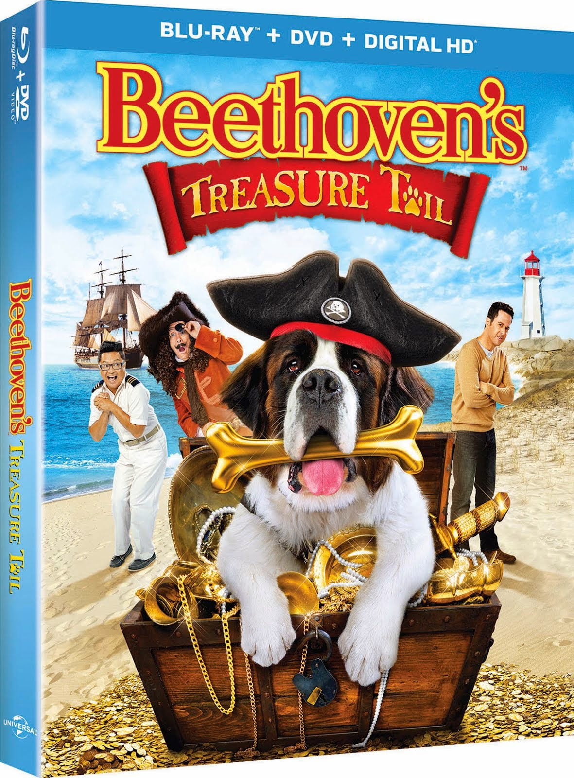 BEETHOVEN'S TREASURE TRAIL ($26.98 value) 10 Winners. On Blu-ray & DVD. Through 11/8.