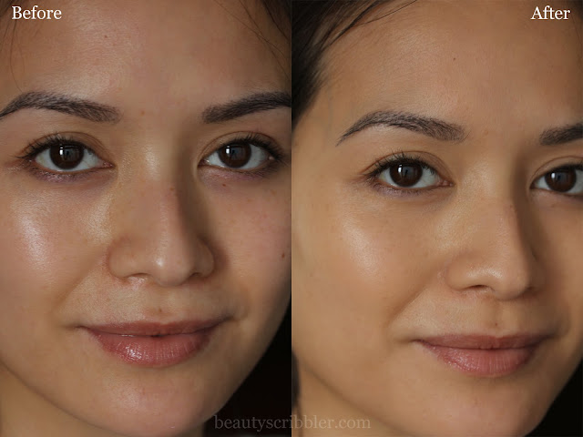 Bourjois Healthy Mix Foundation before and after