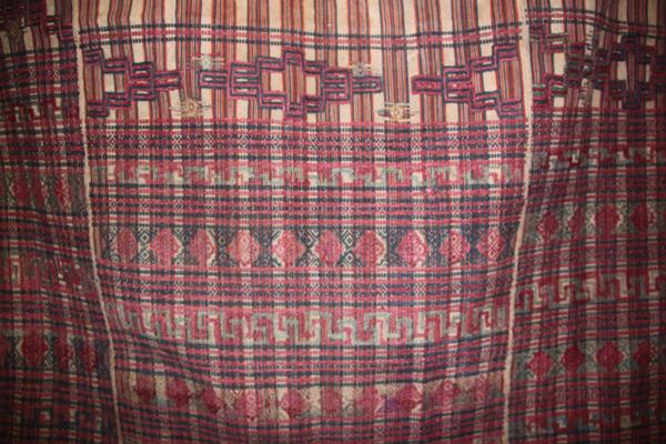 bhutanese textile antique silk vegetable dye ja dey ma kira