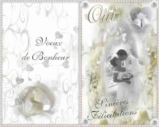 carte d invitation mariage gratuit faire parts de. Black Bedroom Furniture Sets. Home Design Ideas