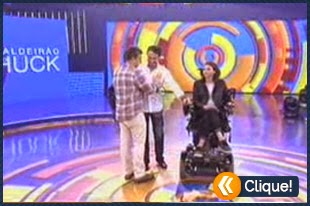Luciano Huck comete gafe ao entrevistar a ex-ginasta Laís Souza