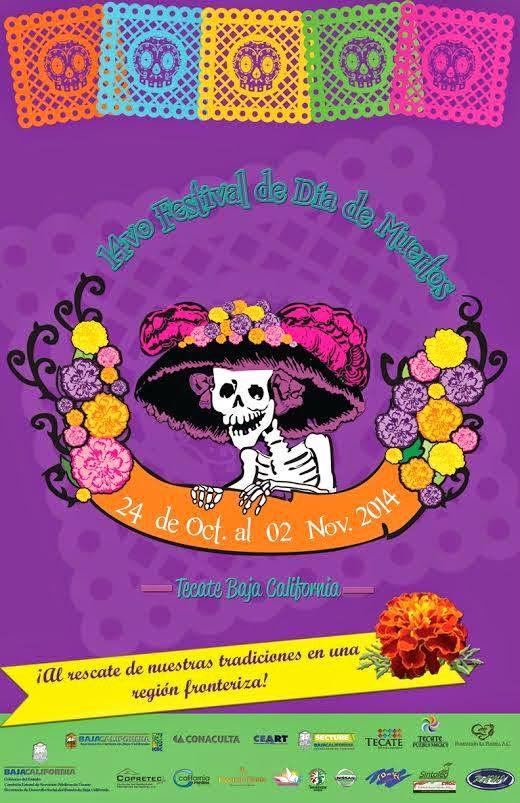 programa festival de día de muertos 2014