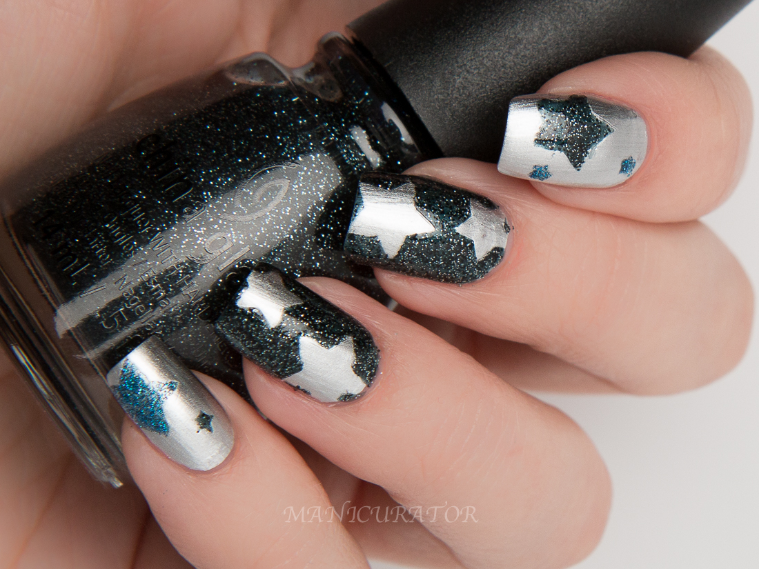 China-Glaze-Twinkle-I'd-Melt-For-Meet-under-stars-feeling-twinkly