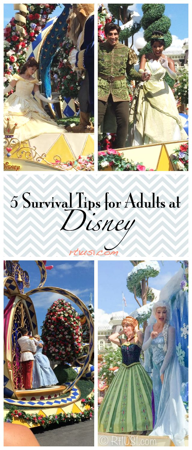 Tips for Adults at Disney