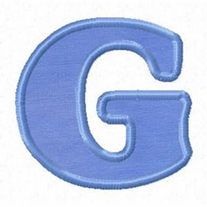 g alphabet letter  Source: inthehoopdesigns.com