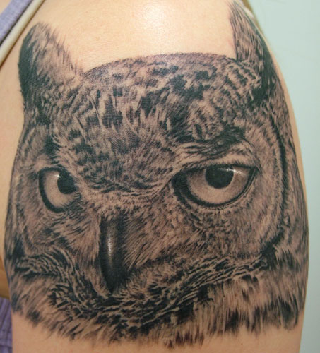 Owl Tattoos Designs Ideas And Meaning: Gardeninga: Owl Tattoos Meaning