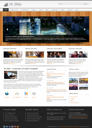 Share template JV Dilo - Joomla 1.5
