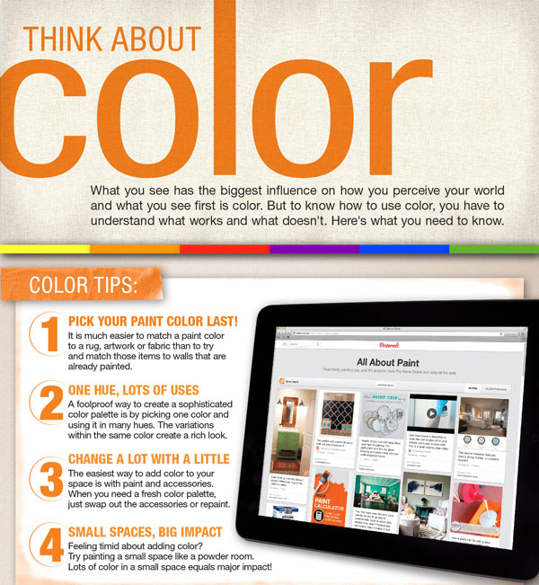 Color Theory And Using The Color Wheel In Your Home