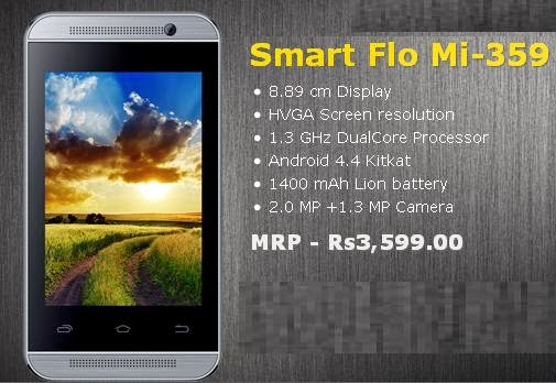 Spice Smart Flo Mi-359 price India image