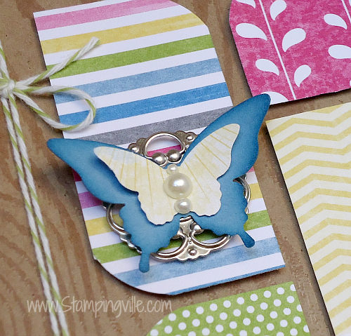 How to create your own butterfly embellishment