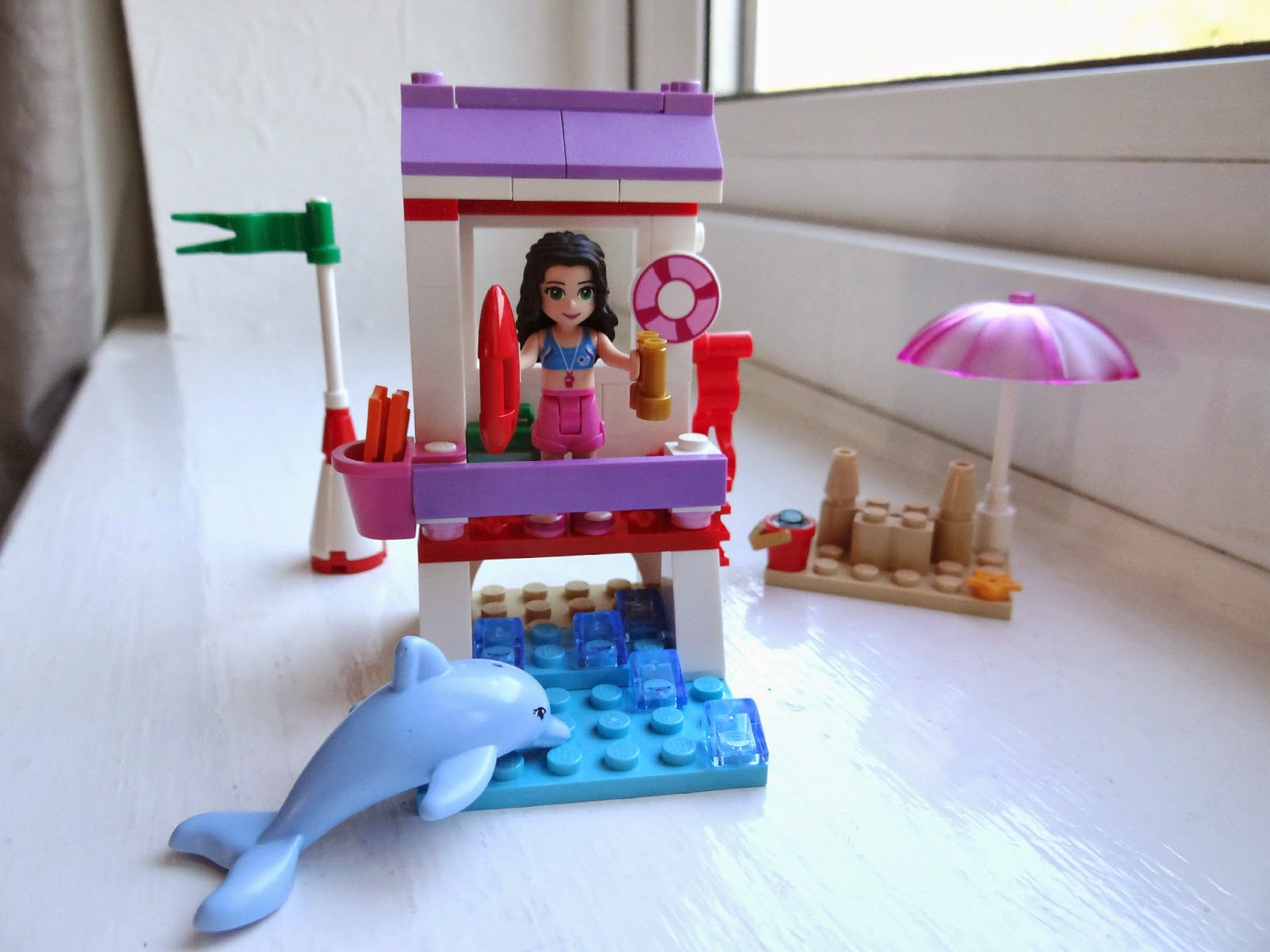 LEGO Spring 2014, LEGO Friends Emma's Lifeguard Post, LEGO Friends Beach