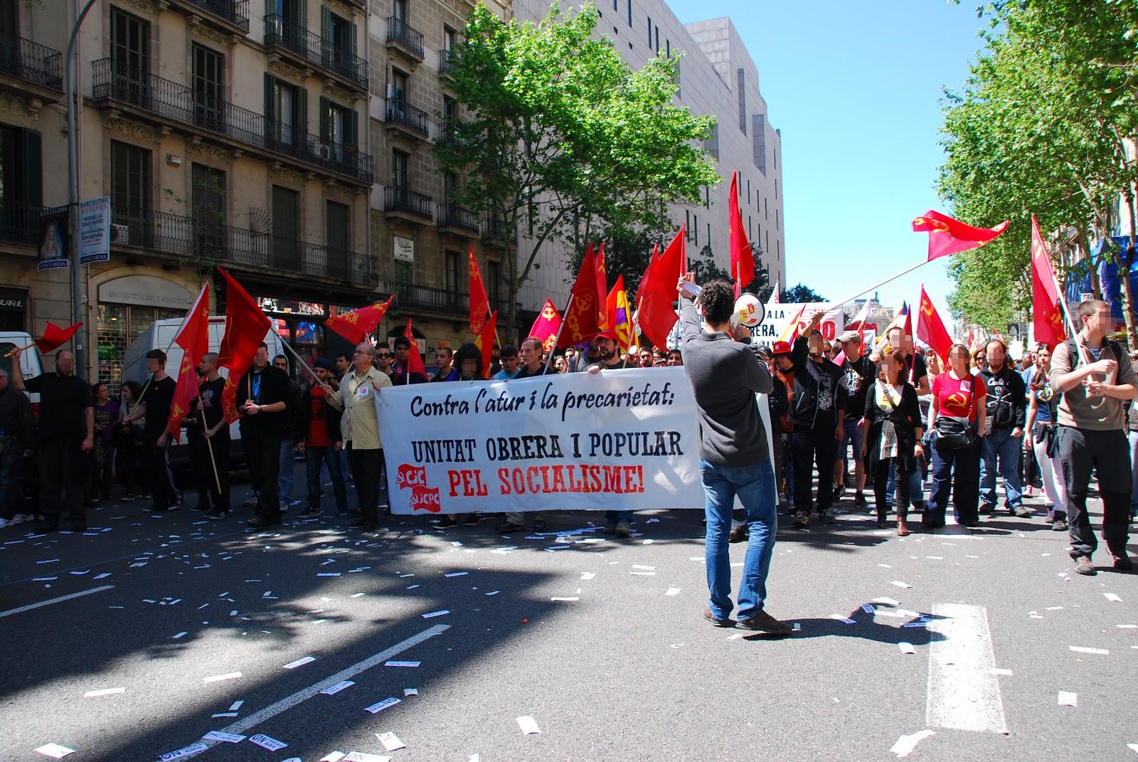 Bloc comunista al 1er de Maig