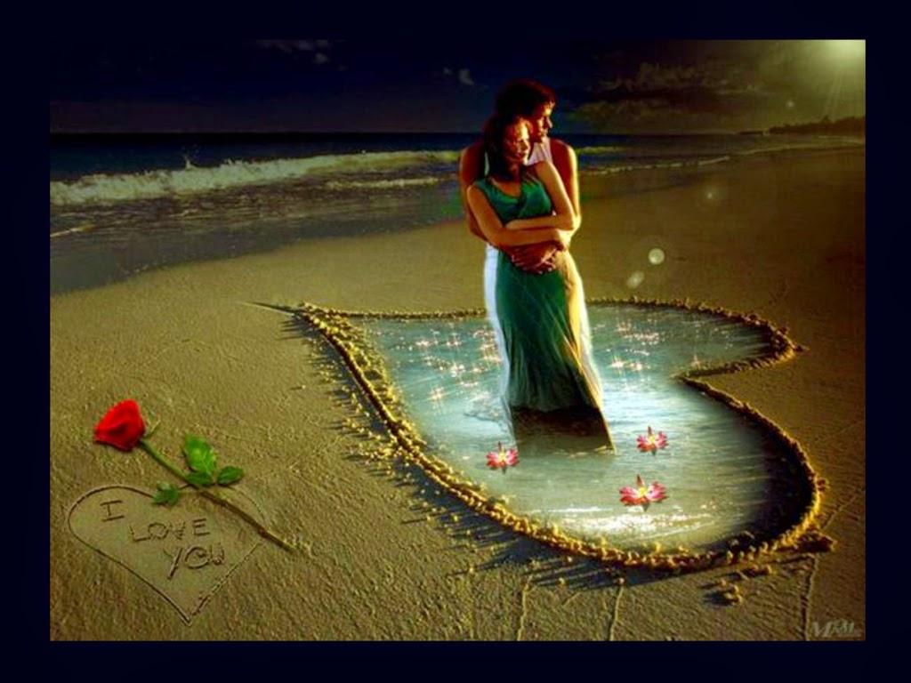 Couple-in-Heart-Love-Wallpaper