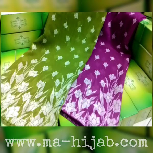 jilbab pashmina bunga tulip