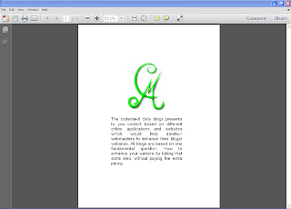 Image pdf to copyable pdf