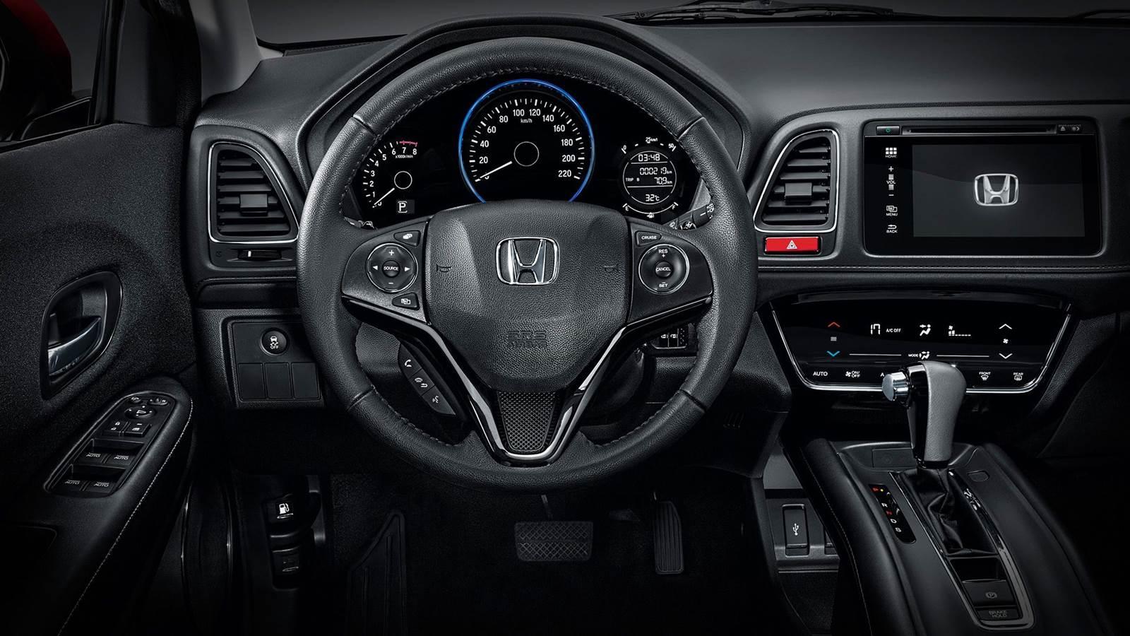 Novo Honda HR-V - interior - painel