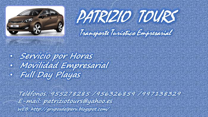 Patrizio Tours (TURISMO RECEPTIVO)
