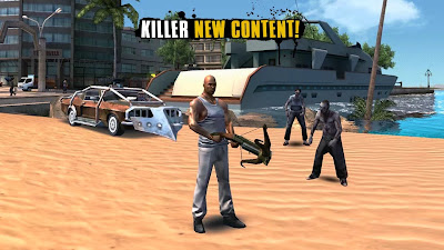 Descargar Gangstar Rio: City of Saints v1.1.4 APK Mod [Dinero Ilimitado] Full para android (Gratis)