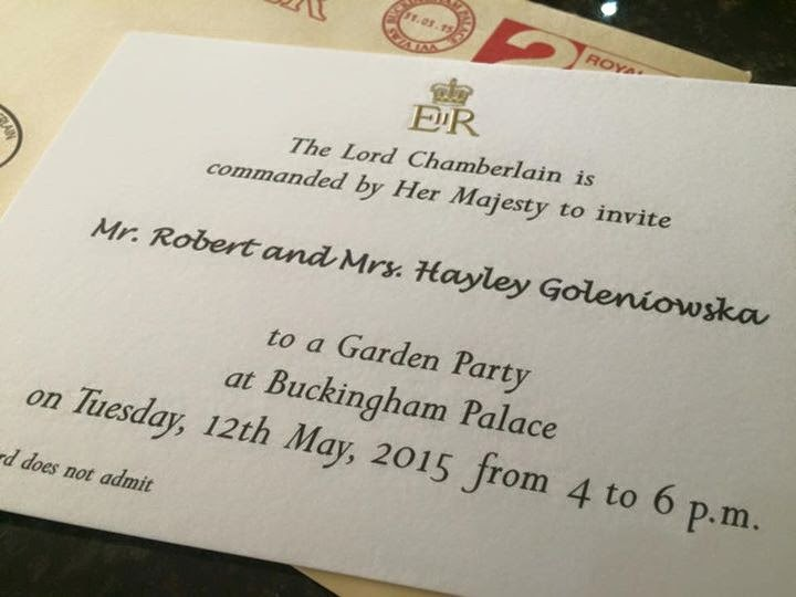 Downs Side Up My Sunday Photos A Right Royal Garden Party Invite – Royal Garden Party Invitation