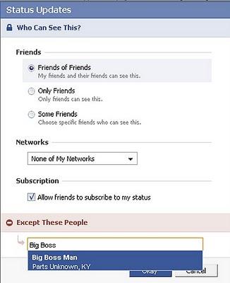 Makeuseof untuk menyembunyikan status update facebook