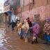 عواصف رعدية  وأمطار طوفانية تغرق مدينة تطوان