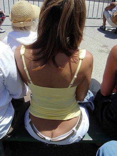 Belahan Pantat Cewek seksi crack butt crack ass