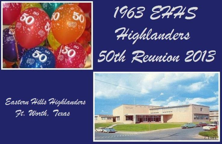 1963 EHHS Highlanders 50th Reunion - Ft. Worth, Texas